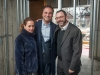 Micki and Sam Mizrahi with Rabbi Elie