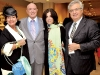 Cathy and Rudy Bratty, Anne Simone and Pal Di Iulio, president and CEO of Villa Charities Inc.