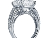 8.03-carat cushion-cut ring