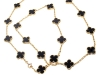 Black and gold show off their chemistry together in this dainty necklace that still makes a statement | Fortrove, www.fortrove.com
