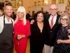 Todd Erickson, Merle Weiss, Susan Gladstone (museum director), Daniel Perron and Sandra Seligman | Photos courtesy of Jewish Museum of Florida - FIU