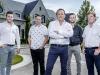 JTF Homes team: Christopher Campoli, Nino Campoli, Frank Campoli, Mario Campoli and Tony Mocci (left to right) | Photo By Robin Gartner
