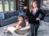 Janinna Caverly (left) and Julie Charbonneau (right) are the co-founders of Julie Charbonneau Design, a Toronto- and Montreal–based turnkey luxury design firm   Photo By Robin Gartner