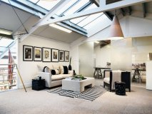 Kelly Hoppen's new studio in West London follows her East-meets-West design philosophy that meticulously fuses clean lines and simplicity with sumptuous textures and luxury finishes