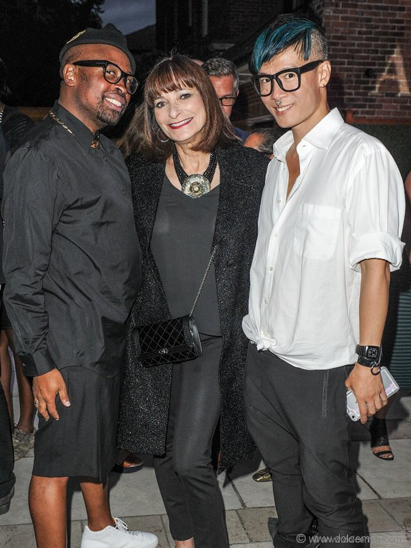 Kirk Pickersgill, Jeanne Beker and Stephen Wong