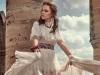 Dress, Maria Lucia Hohan; Shoes, Paul Andrew; Belt, Etro; Necklace, Etro; Bracelet, Etro