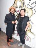 Johnny Ramirez and LAC + CO owner Tony Pham