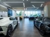 Lamborghini New Dealership Interior