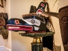 A Canadian Haida West Coast chief\'s ceremonial headdress