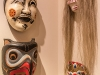 Larry Mogelonsky's mask collection boasts a Japan Kabuki Theatre (circa 1950), an Iroquois False Face Society Mask and a Balinese Theatre Mask