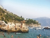 Conca dei Marini's beach draws the attention of locals and tourists alike.