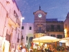 Cisternino's piazza delights with fine alfresco dining amongst an energetic atmosphere.