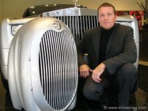 Dean Jackson's second Aeropod, the RetroRocket 02, was purchased by the Rolls Royce dealership in Toronto, Canada.