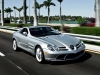 Feeling good is a guarantee when you're behind the wheel of this  supercharged Mercedes-Benz SLR McLaren.