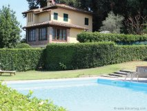 La Gigliola's pastoral landscape is full of thriving vegetation, adding to the charm of each villa.