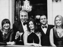Silvana DiCenzo, Anthony DiCenzo, Carmelina DiCenzo, John DiCenzo and Leigh Anne Chiaravalle