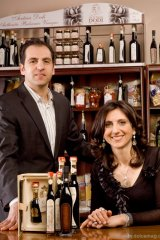 Molisana Imports's Frank Di Biase, president, and Teresa Di Biase, co-owner, proudly stand behind Acetaia Dodi products.