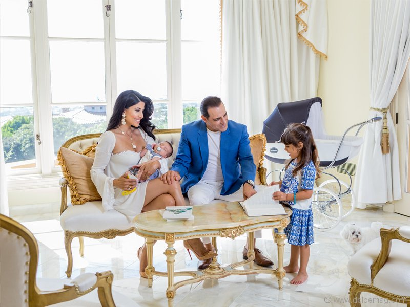 Manny khoshbin making his mark dolce luxury magazine the khoshbin company president takes a break at home with his wife hair care entrepreneur pmusecretfo Gallery