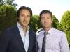 Marco Guglietti with Fernando Zerillo, co-founder of Dolce Publishing Inc.