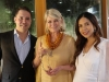 Jacques Christophe Branellec, Martha Stewart and Mia Arcenas