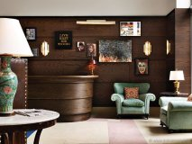Martin Brudnizki's concept for Soho Beach House Miami makes a private members club feel like home with bright palettes, salvaged timber and vintage furniture