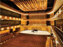 McKenna consulted an acousticianto ensure the quality of sound in The Royal Conservatory's Koerner Concert Hall was second to none