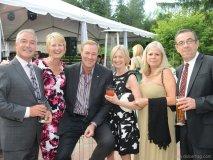 Austin Delaney, Nancy Shaw, Ken Shaw and guests