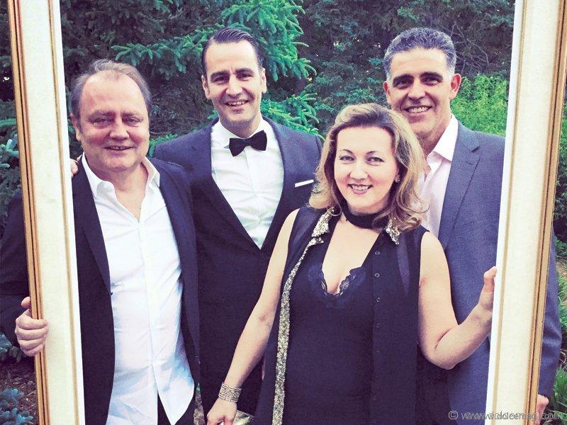 Izzy Sulejmani, Hani Roustom, Michelle Zerillo-Sosa and Sergio Sosa