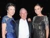 Diana Taylor, Michael Bloomberg and Georgina Bloomberg