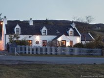 The Three Chimneys restaurant in Colbost, Dunvegan, Isle of Skye, Scotland, has become  a staple stop for international foodies