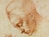 Michelangelo,  Studies for the Head of Leda,  c. 1630, Casa Buonarroti
