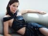 Dress - Prabal Gurung metallic dress | Shoes - Schutz Black Patent bootie | Earring - Ana Khouri / Photography by PULMANNS