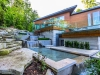 The home is approximately 11,000 sq. ft. of luxurious modern architecture, set on 41 green acres in the heart of Caledon