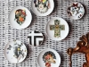"Christian Lacroix's contemporary and haute couture designs are mixed and matched in the ""Love Who You Want"" porcelain gift collection, a fun and creative collaboration with porcelain manufacturer Vista Alegre"