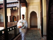 Morocco gives you a piece of heaven with beautiful architecture and exquisitely designed hotels. (Photo by Elan Fleischer)