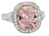 ▶ Sorbet pastels are  in for the season, and this light, princess-pink piece plays prettily with the trend.  www.rosenbergdiamonds.com