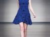 nadya tota designe blue dress