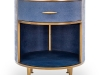 9. Willersley: Add a touch of style to your bedroom with the Willersley bedside table, featuring daring gold accents | www.didesigns.co.uk