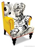 Ban boring from your space with this graphic chair that will attract the eyes and blow the minds of your house guests. www.bykoket.com