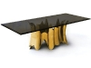 With an intriguing contrast between modern and naturalistic, the Obssedia table will add a touch of the unexpected to your décor scheme. www.bykoket.com