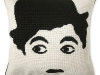 Jonathan Adler's needlepoint Tramp pillow is the face of fashionable home décor. www.jonathanadler.com