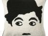 Jonathan Adler's needlepoint Tramp pillow is the face of fashionable home décor. www.jonathanadler.com