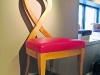 For the conscious consumer, Superior Seating Hospitality donates $50 to the Princess Margaret Hospital from the sale of each of these ribbon-shaped chairs.
