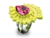 POP OF COLOUR: This daring gem isn't from your grandmother's jewelry box; ignite your look with some colourful sparkle.