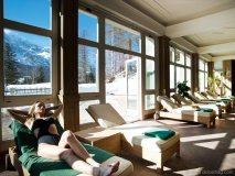 3. ROOM WITH A VIEW Nestled in the mountains in Italy's Cortina d'Ampezzo, Cristallo Hotel Spa & Golf is like something out of a fairy tale (or maybe a Bond film) with its ornate architecture and dream-come-true amenities, like its in-house spa. www.cristallo.it