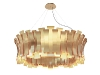 4. LET THERE BE LIGHT Portugal-based DelightFULL lives up to its name by crafting mood-lifting lighting, like this brass Etta Round chandelier. With its artistically charged shape, it'll light up a room more than the average lamp ever could. www.delightfull.eu