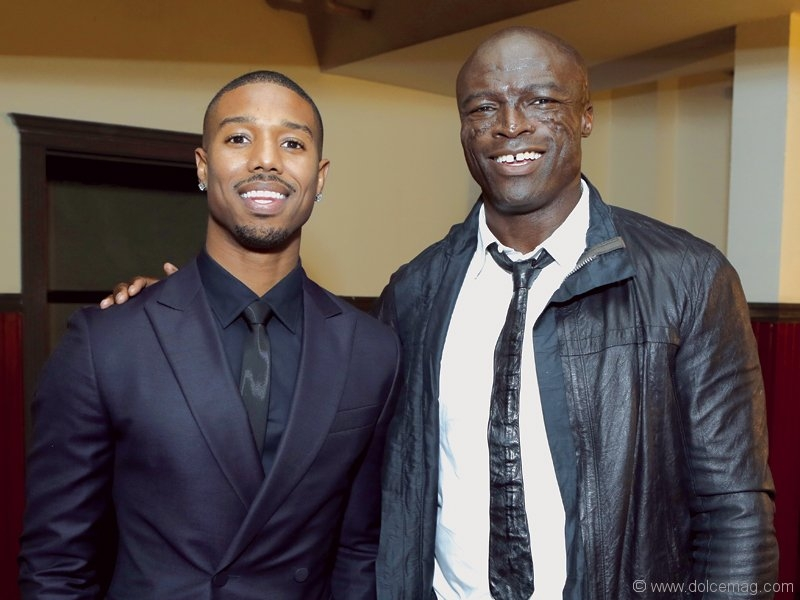 Michael B. Jordan and Seal