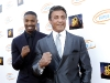 Michael B. Jordan and Sylvester Stallone