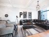 Since 2013, Patterson has made a home for himself in Toronto. His modern and eclectic-styled suite was designed by Jaclyn Genovese of Spaces by Jacflash