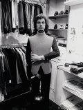 paul in his first shop